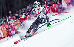 "29.01.2019, Planai, Schladming, AUT, FIS Weltcup Ski Alpin, Slalom, Herren, 1. Lauf, im Bild Henrik Kristoffersen (NOR) // Henrik Kristoffersen of Norway in action during his 1st run of men's Slalom ""the Nightrace"" of FIS ski alpine world cup at the Planai in Schladming, Austria on 2019/01/29. EXPA Pictures © 2019, PhotoCredit: EXPA/ JFK"