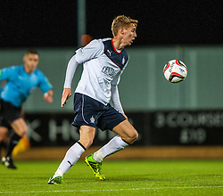 Falkirk's Jay Fulton. Falkirk 0 v 5 Aberdeen, the third round of the Scottish League Cup.<br /> ©Michael Schofield.