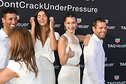 Ricciardo, Paulina Vega, Geri Halliwell-Horner, Bella Hadid and Cadel Evans attend the TAG Heuer event during the Formula 1 Grand Prix de Monaco on May 26, 2018 in Monaco, Monaco. Photo by Laurent Zabulon/ABACAPRESS.COM