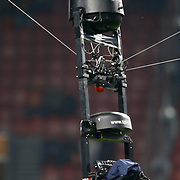 NLD/Amsterdam/20121114 - Vriendschappelijk duel Nederland - Duitsland, zwevende camera boven het stadion