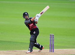 Lewis Gregory of Somerset in action.  - Mandatory by-line: Alex Davidson/JMP - 02/08/2016 - CRICKET - The Ageas Bowl - Southampton, United Kingdom - Hampshire v Somerset - Royal London One Day