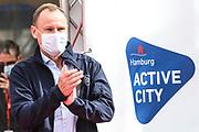 Marathon: Haspa Hamburg 2021, Hamburg, 12.09.2021<br /> Innensenator Andy Grote<br /> © Torsten Helmke