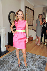 MARIA HATZISTEFANIS at a party hosted by Maria Hatzistefanis to celebrate the publication of Santa Montefiore's new book 'The Affair' held at 35 Walpole Road, London on 27th April 2010.