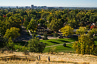 View of Boise from Camel's Back Park