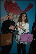 NICHOLAS DOUGLAS;  LAETITIA WAJNAPEL, Julia Peyton-Jones, Hans Ulrich Obrist and Coach host the Serpentine Future Contemporaries Party. Serpentine Sackler Gallery. Kensington Gdns. London. 21 February 2015