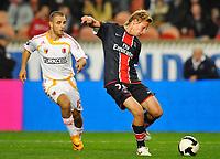 Fotball<br /> Frankrike<br /> Foto: DPPI/Digitalsport<br /> NORWAY ONLY<br /> <br /> FOOTBALL - UEFA CUP 2008/2009 - 1ST ROUND - 2ND LEG - 02/10/2008 - PARIS SG v KAYSERISPOR - CLEMENT CHANTOME (PSG) / AZIZ BILAL (KAY)