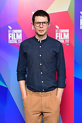 Simon Amstell attending the Benjamin Premiere as part of the BFI London Film Festival at BFI in London.