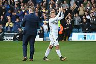 Leeds United defender Samuel Saiz (21) applauds the crowd during the EFL Sky Bet Championship match between Leeds United and Burton Albion at Elland Road, Leeds, England on 9 September 2017. Photo by John Potts.