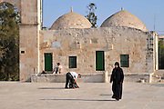 Israel, Jerusalem, Haram esh Sharif (Temple Mount) The Women's mosque