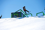 Max Parrot during Snowboard Slopestyle Eliminations at 2014 X Games Aspen at Buttermilk Mountain in Aspen, CO. Brett Wilhelm/ESPN