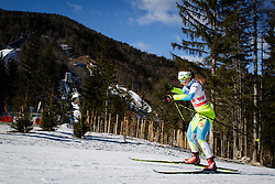 Nika Razinger (SLO) during the ladies team sprint race at FIS Cross Country World Cup Planica 2016, on January 17, 2016 at Planica, Slovenia. Photo by Ziga Zupan / Sportida