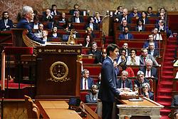 April 17, 2018 - Paris, France - Justin Trudeau et Francois de Rugy (Credit Image: © Panoramic via ZUMA Press)