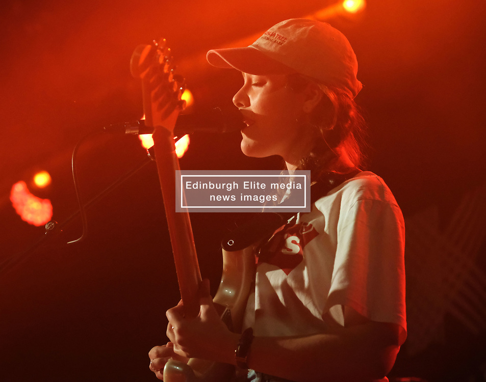 KT Tunstall at Barrowlands Glasgow, UK tour of album 'Wax'<br /> <br /> Pictured: Laurel (support) - guitarist<br /> <br /> (c) Aimee Todd | Edinburgh Elite media