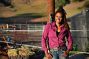 Brianna Noble at Mulatto Meadows in Briones, California.