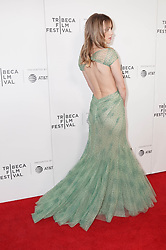 Suki Waterhouse at 'Charlie Says' at the Tribeca Film Festival in New York City.