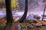 The Rapids<br /> Autumn, Schroon River, Adirondacks, NY