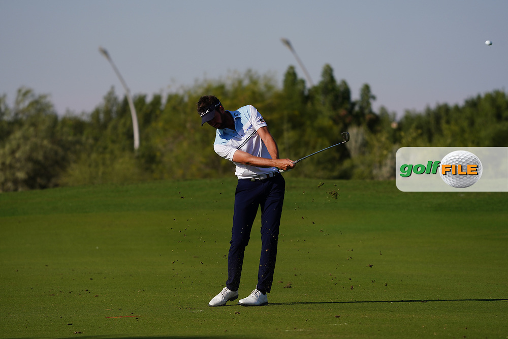 Scott Jamieson (SCO) on the 16th during Round 1 of the Commercial Bank Qatar Masters 2020 at the Education City Golf Club, Doha, Qatar . 05/03/2020<br /> Picture: Golffile | Thos Caffrey<br /> <br /> <br /> All photo usage must carry mandatory copyright credit (© Golffile | Thos Caffrey)