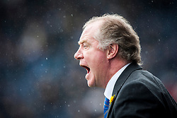 Cowdenbeath's manager Jimmy Nicholl.<br /> Falkirk 5 v 0 Cowdenbeath, Scottish Championship game played today at The Falkirk Stadium.<br /> © Michael Schofield.