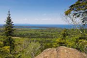 Vista view from Mt. Franklin  atop Isle Royale National Park, Lake Superior, Michigan, USA