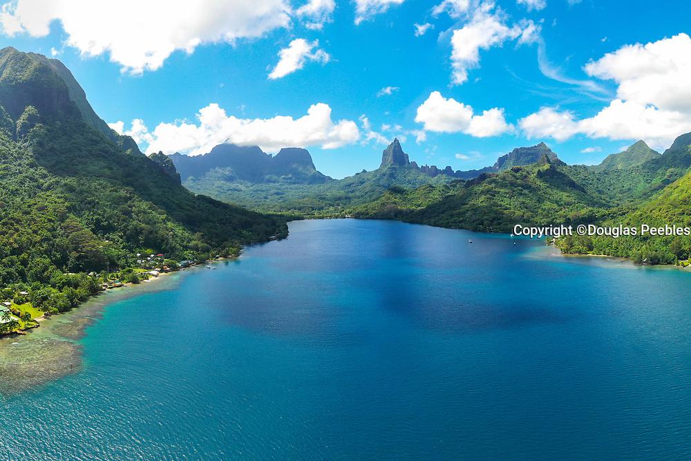 Opunohu Bay, Moorea, Society Islands, French Polynesia; South Pacific