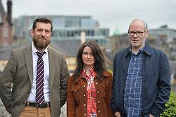 2016 Edinburgh International Film Festival, (left to Right) Stewart Henderson (Chemical Underground/The Delgados), Emma Pollock (the Delgados), Paul Savage (the Delgados), during the WORLD PREMIERE (DOCUMENTARY) LOST IN FRANCE, The Apex Hotel Grassmarket, Edinburgh16th June 2016, (c) Brian Anderson   Edinburgh Elite media<br /> <br /> Niall McCann (Director) <br /> Alex Kapranos (Musician)<br /> Emma Pollock (Musician)<br /> Paul Savage (Musician)<br /> Stewart Henderson (Musician)<br /> David Sosson (Musician)