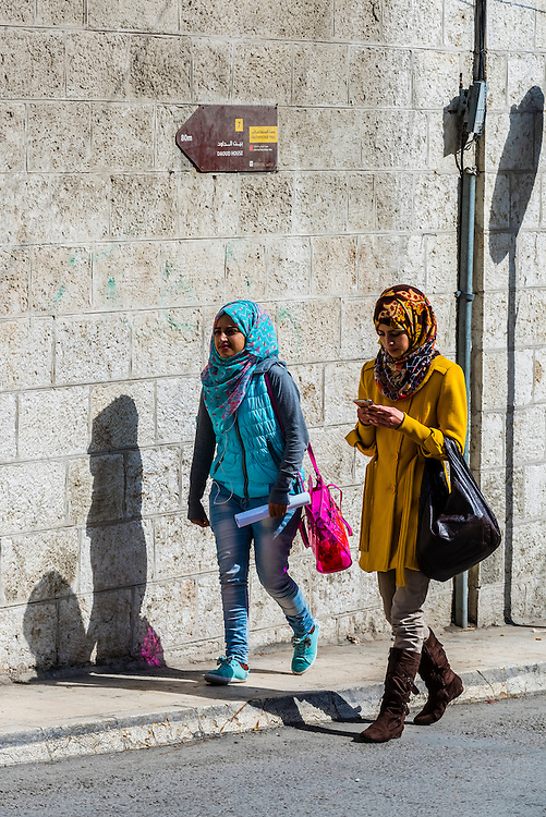 Street scene, As-Salt, Jordan.