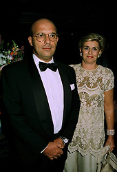 COUNT & COUNTESS DE MAFRA at a party in London on 14th July 1997. MAF 18