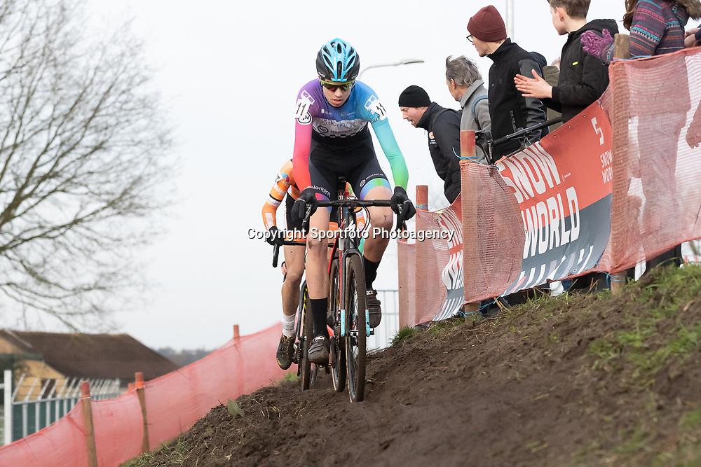 11-01-2020: Wielrennen: NK Veldrijden: Rucphen <br />Bart de Veer