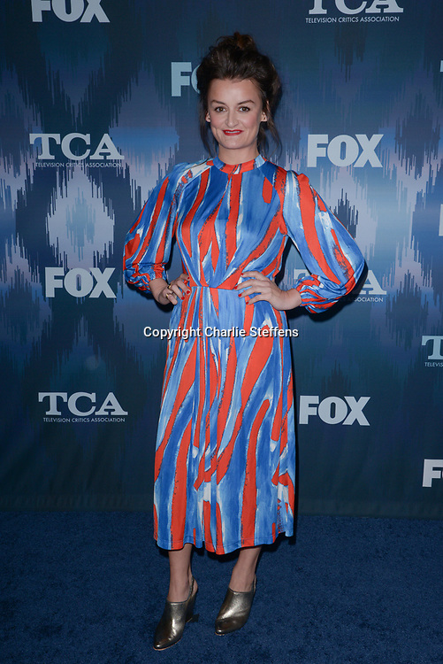 ALISON WRIGHT at the Fox Winter TCA 2017 All-Star Party at the Langham Hotel in Pasadena, California