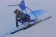 SOELDEN, AUSTRIA. OCTOBER 17 2020:  1st Women's Giant Slalom as part of the Alpine Ski World Cup in Solden on October 17, 2020; Run 1, Estelle Alphand (SWE) in action ( Pierre Teyssot/ESPA Images-Image of Sport)