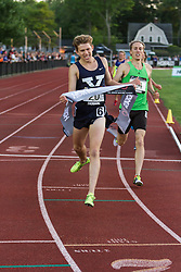 Adrian Martinez Classic track meet, Men's High Performance Adro Mile, section 1, James Randon, Yale, sprints for win