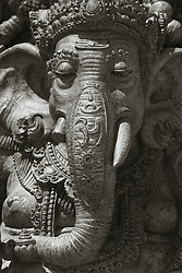 magnificent statue of Ganesha
