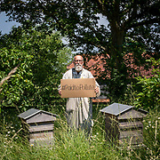 Climate Activist Jeremy Cox near his home on the 24th of June 2021 in Kent, United Kingdom. Jeremy is one of three climate activists taking the UK government to court over the billions of pounds of public money it spends propping up the oil and gas industry, and is part of the Paid to Pollute campaign.