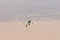 Aircraft flying around Black Rock City