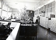 office room ar a factory USA 1940s