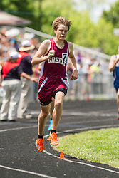Maine State Track & Field Meet, Class B: boys 1600 meters, Greely