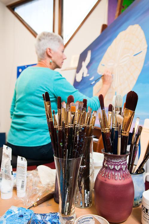 Artist Carolyn Faulkner