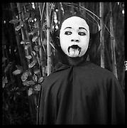 Vampire face, Halloween Zoo Boo