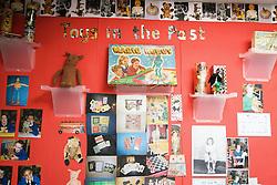 Display board in classroom at special school,