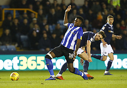 February 12, 2019 - London, England, United Kingdom - Sheffield Wednesday's Lucas Joao.during Sky Bet Championship match between Millwall and Sheffield Wednesday at The Den Ground, London on 12 Feb 2019. (Credit Image: © Action Foto Sport/NurPhoto via ZUMA Press)