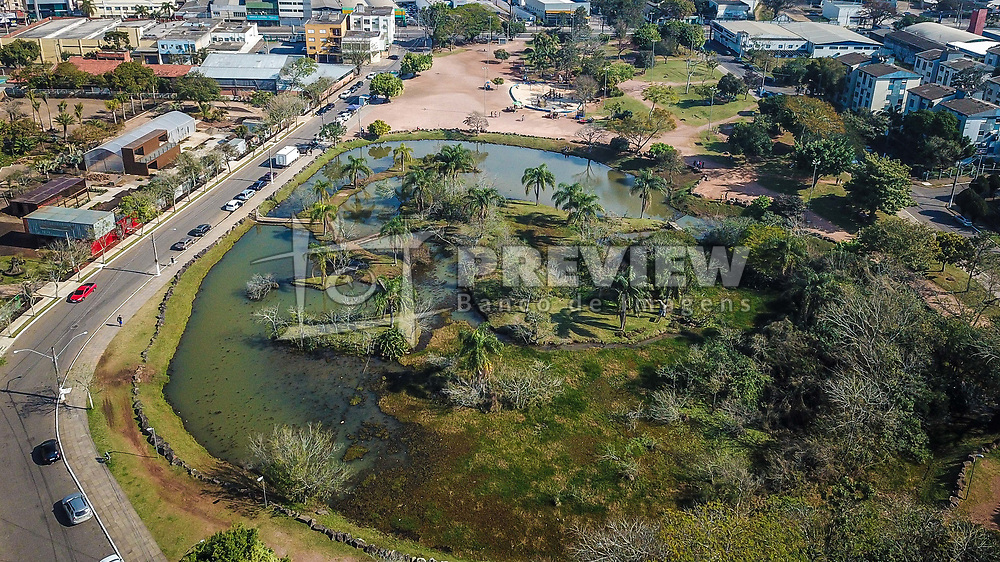 Vista aérea do Parcão de Gravataí. Foto: Jefferson Bernardes/ Agência Preview