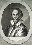 Martin Frobisher (1535-1594) English explorer and navigator.  In 1576 led an expedition in search of the Northwest Passage. Engraving by Michiel van der Gucht (1660-1725) for Clarendon's 'History'.