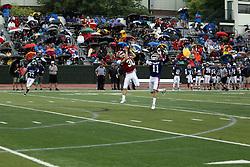 15 June 2019:  Illinois Shriner High School All Stars Football At Tucci Stadium in Bloomington Illinois