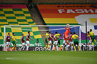 Football - 2019 / 2020 Premier League - Norwich City vs. Burnley<br /> <br /> Burnley's Nick Pope claims a corner, at Carrow Road.<br /> <br /> COLORSPORT/ASHLEY WESTERN
