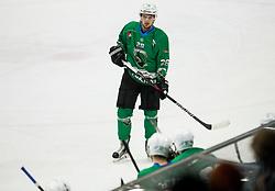 Patrik Tislar of SZ Olimpija during ice hockey match between HK SZ Olimpija and WSV Sterzing Broncos Weihenstephan (ITA) in Round #12 of AHL - Alps Hockey League 2018/19, on October 30, 2018, in Hala Tivoli, Ljubljana, Slovenia. Photo by Vid Ponikvar / Sportida