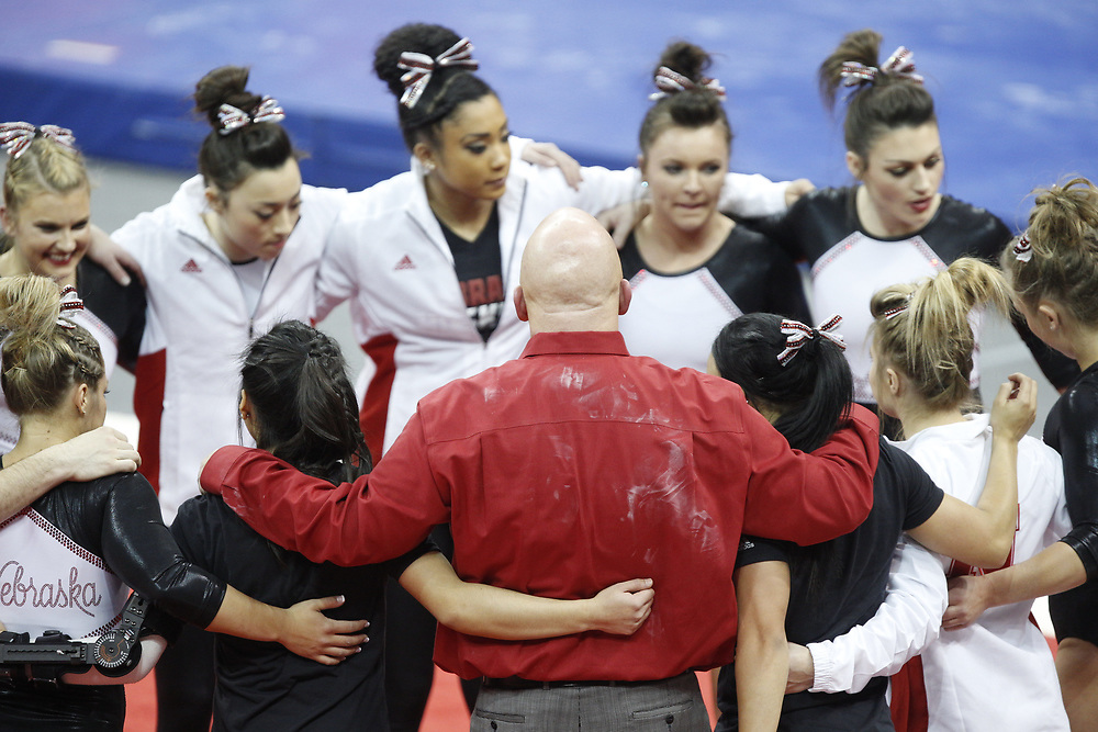 at the Bob Devaney Sports Center in Lincoln, Neb., on Feb. 12, 2016. Photo by Aaron Babcock, Hail Varsity