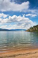 Otter Bay Beach at Okanagan Lake in Ellison Provincial Park in Vernon, British Columbia, Canada