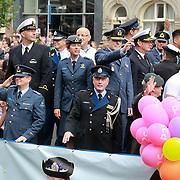 NLD/Amsterdam/20110806 - Canalpride Gaypride 2011, defensieboot