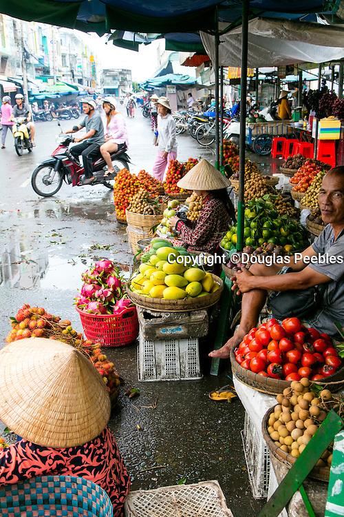 Market, Sa Dec, Mekong River, Vietnam, Asia