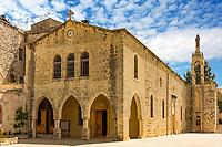 Church of Saidet et Talleh Deir El Qamar in mount Lebanon Middle east